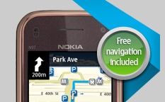 Nokia with Free Navigation